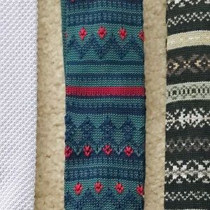 Patterned, Textured, Knit Tie (Banana Republic)
